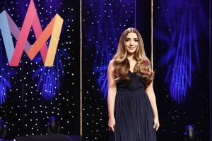 Gina Dirawi leder Melodifestivalen för tredje gången.