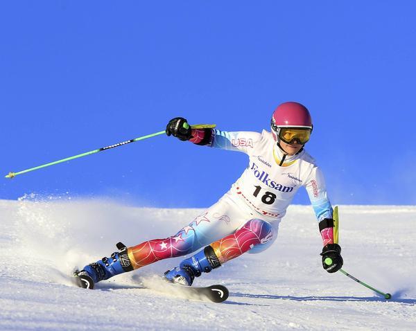 FIS-tävlingar Funäsdalen, Elsa Wilhelmsson från hemmaklubben länsbäst av tjejerna