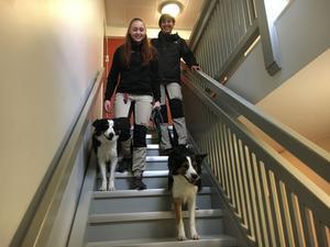 Flera lägenhetbesök runt om i stan blir det för Nicoline Krulle och Ute Rüeggs när de kommer till Västerås.