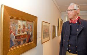 Håkan Spännar konstaterar att fram tidsbygget av och i Ottilia Adelborg-museet fortsätter – nu organisatoriskt.