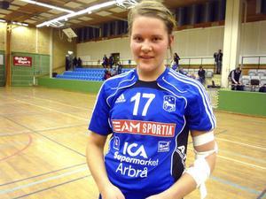 16-åriga Hedda Forsberg växer för varje match – nu blev det fem mål av Kilaforstjejen.