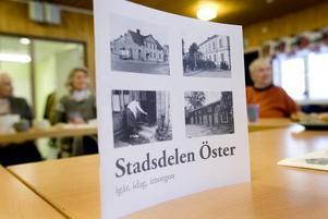Ny bok. Den nya boken om Öster ska delas utt till alla som bor i stadsdelen och till nya som flyttar in. Boken har skrivit av Österborna själva.