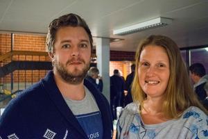 Samuel Viklund och Maria Malmgren driver campingen i Horndal och hoppas på en tillströmning av folk till orten.