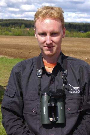 Värt besväret. När Martin Widén, Gränna, fick meddelandet om den svartvingade vadarsvalan, hoppade han in i bilen och körde de 46 milen till Orsa.