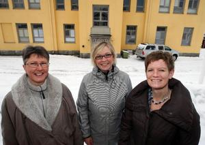 Ingrid Boström, Anna Mårtensson och Catarina Freskgård är de tre veterinärerna som ska öppna en ny djurklinik i Östersund.