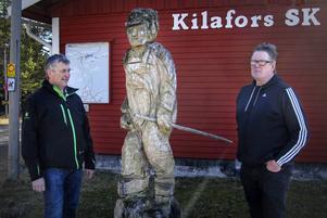 Lennart Larsen och Stefan Olofson i Kilafors Skidklubb.