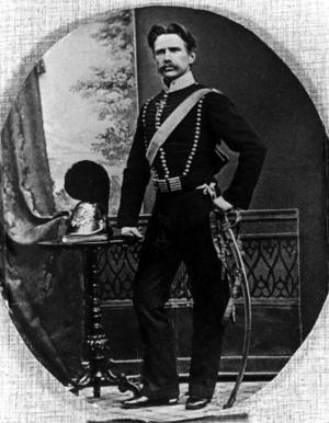 Bildtext 9: Kapten Henrik Lindström lär ligga bakom skapandet av Biff à la Lindström.   Foto: TT/Arkiv