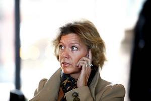 Upptagen. Margareta Sandstedt har fullt upp just nu. Hon är ny riksdagsledamot för Sverigedemokraterna, och                           har mycket att lära sig.