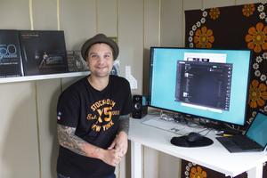 Björn Marmegård lever på digitala spellistor.