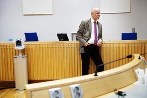Lagmannen Lars-Erik Bergström säger att han aldrig sett att nämndemän agerat efter sin politik i rättegångar.