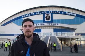 Bandypuls reporter Rikard Bäckman är på plats i Chabarovsk.