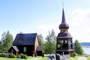 Svenska kyrkan öppnar 26 kyrkor i sommar. En av dessa är Håsjö gamla kyrka.