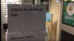 Rån mot Apoteket i Djurås