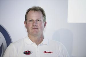 Andreas Eriksson har stora planer för sin verksamhet. Foto: Vilhelm Stokstad /TT