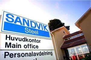 På Sandvik kommer de flesta enheter att stå stilla i juli.