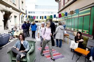 Gatufestivalen fyllde Gamla gatan med liv och rörelse under några timmar på lördagen.