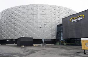Friends arena.