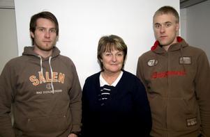 Familjeföretag. Trion bakom Vapro. Från vänster: Mats Trollvad, Inga-Lill Henriksson och Mikael Trollvad.
