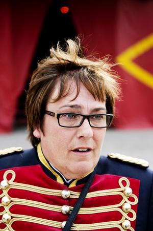 Helena Schicht, turnéledare för Cirkus Maximum.