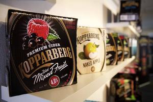 Exportframgångarna med cider fortsätter för Kopparbergs bryggeri