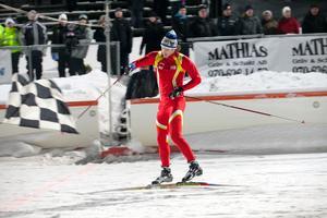 Emil Johansson var en av åkarna vid fjolårets skidsprint.