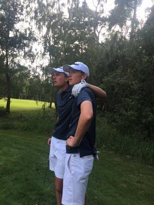 Gävles Joakim Åhlund och Pontus Nyholm.