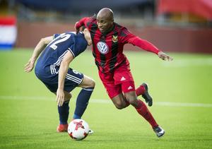 Fouad Bachirou var bäst i ÖFK mot Fola Esch.