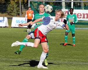 Christoffer Lindberg fixade en poäng i Boden med kvitteringen i andra halvlek.
