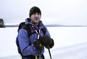 Vackert och roligt, tycker Håkan Haglund om långfärdsåkning.