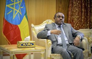 Etiopiens premiärminister Hailemariam Desalegn har samtalat med statsminister Stefan Löfven om den svenske hjärtläkaren Fikru Maru.
