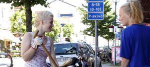 Unga sommarjobbare i Nynäshamn.