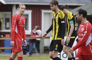 Joel Åman var besviken efter matchen mot Friska Viljor.