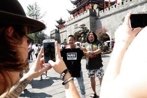 Kinesiska Mass Diversity-fans.