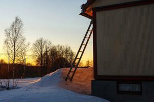 Nuno Perestrelo var fascinerad av snön och dess effekt på landskapet.