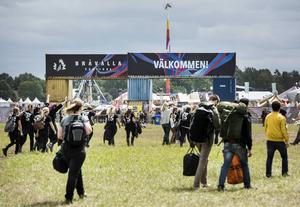 Bråvallafestivalens facit blev dystert i år: fem anmälda våldtäkter och 15 ofredanden.