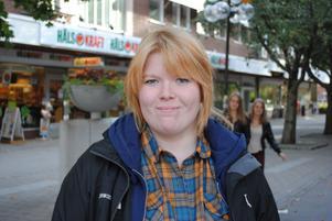 Jessica Hedberg, 16 år, Leksands gymnasium:– England. Det är ett väldigt fint land och jag älskar brittisk engelska.