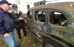 Per-Anders Andersson och Sven  Hansson minns tillbaka hur de rattade sin Morfar Jinko på sjöisarna i södra Hälsingland.