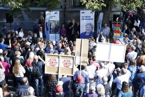 Kan Höyres Erna Solberg fortsätta som statsminister i Norge efter valet?
