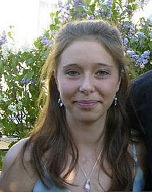 Alexandra Bäckström, 18 år idag.