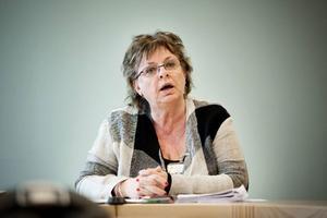 Harriet Jorderud (S) ville inte att moderaterna skulle ha cred för att det nu blir stopp för stafettläkare.