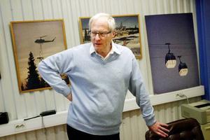 –Det har varit ett svårt projekt, sammanfattar Harry Sjöström som också säger att 2008 är Liftbyggarnas bästa år genom tiderna. Företaget har liftbyggen i Tänndalen och i Kåbdalis i Norrbotten på gång förutom gondolen på Globen.