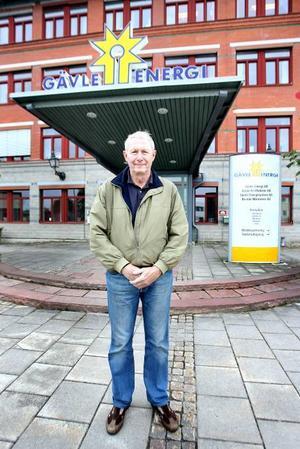 VÄLJER UPPDRAG. Moderaten Anders Lené gillar uppdraget i Gävle Energi, men hoppade av kommunfullmäktige bara ett år efter valet.