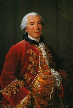 George Louis Leclerc, Comte de Buffon teoretiserade tidigt om människans klimatpåverkan och vårt ansvar för världens överlevnad. Målning av François-Hubert Drouais från 1753.
