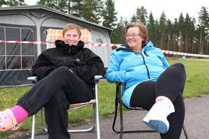 Susanne Sjöberg och Anna-Karin Skoglund