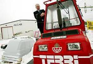 ARKIVBILD Konkurs. Skogs-Jan Eriksson klev in som ägare i Alcab THT i februari och meningen var att han skulle sälja skogsmaskinen Terri. I dag är konkursen ett faktum.