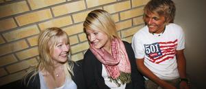 Tina Häll, Elin Valsberg och Jonas Persson hade alla planer på att dra från Ljusdal för att studera på gymnasiet på annan ort. Men alla tre blev kvar, och det är de glada för i dag.