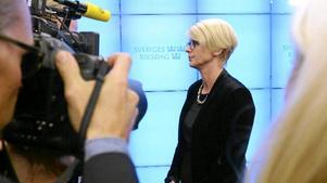 Stormig vecka. Elisabeth Svantessons första dagar som ny arbetsmarknadsminister har varit omtumlande - och frågorna om hennes tro och tidigare abortåsikter är många.Arkivfoto: Janerik Henriksson/Scanpix