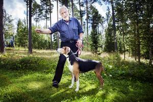 Ernst Bjureflo och Roggabäckens Daisy har tävlat tillsammans i flera år.
