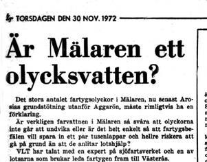 VLT 30 november 1972.