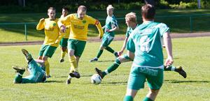 Det var tuffa tag i Näsviken då hemmalaget slog Ljusdal med 2–1.